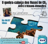 Hungry & Science: O quebra-cabeça dos fluxos de CO2 entre o Oceano-Atmosfera na Amazônia Azul