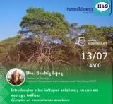 Hungry & Science: Introduccion a los isótopos estables y su uso em ecologia trófica: Ejemplos en ecossistemas acuáticos
