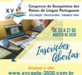 XV Congresso de Geoquímica dos Países de Língua Portuguesa (XV CGPLP)